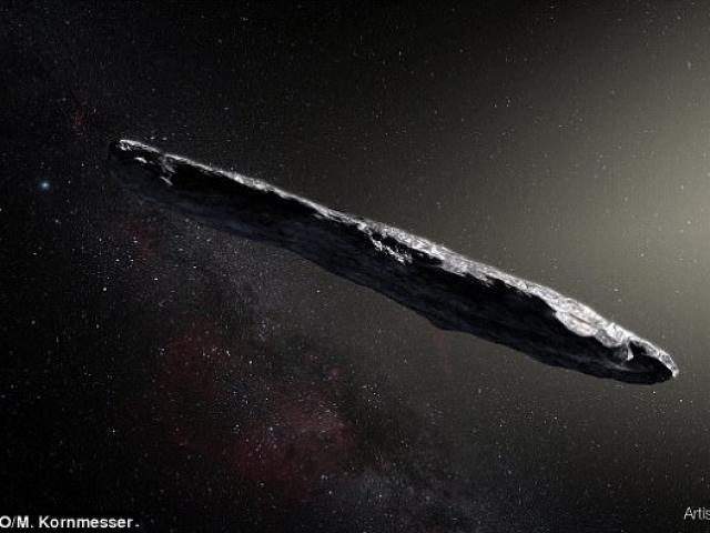 Vật thể bay qua Trái đất nghi là tàu vũ trụ ngoài hành tinh