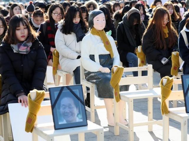 """Nhật-Hàn """"căng như dây đàn"""" vì nô lệ tình dục thời chiến"""