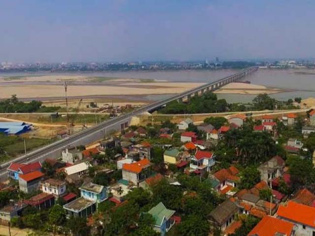 Ngắm cây cầu hơn 1.800 tỷ bắc qua sông Hồng thông xe dịp giải phóng Thủ đô