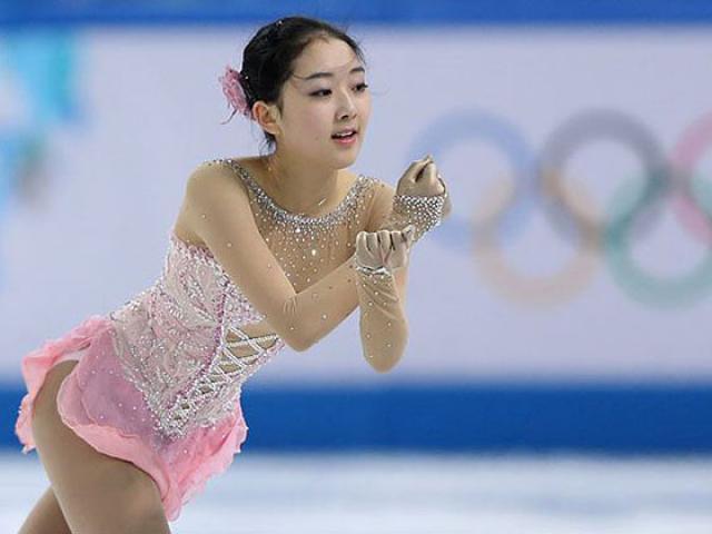 """Mê mẩn vẻ đẹp trong sáng của """"hot girl trượt băng Trung Quốc"""""""