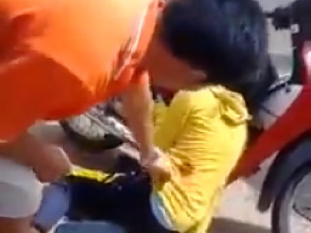 Một cô gái bị trúng đạn cao su của CSGT