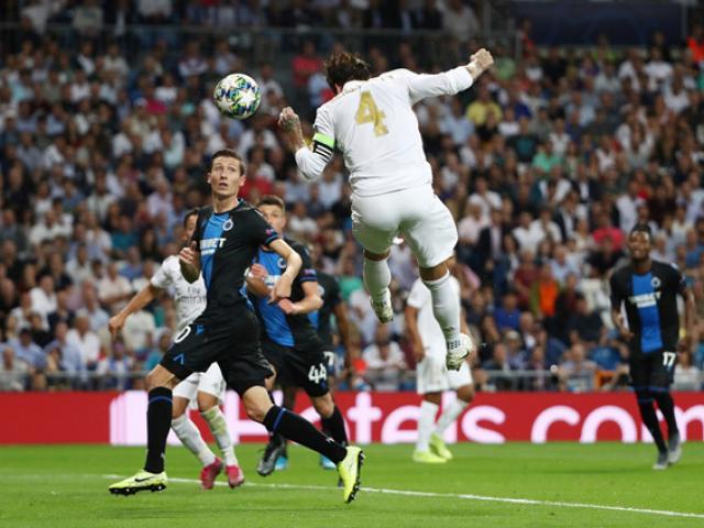 Bóng đá cúp C1 Real Madrid - Club Brugge: Hàng thủ thảm họa & 2 cú đánh đầu vỡ òa