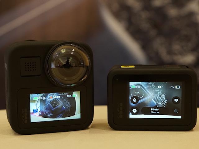 GoPro giới thiệu bộ đôi camera hành trình Hero8 Black và Max mới