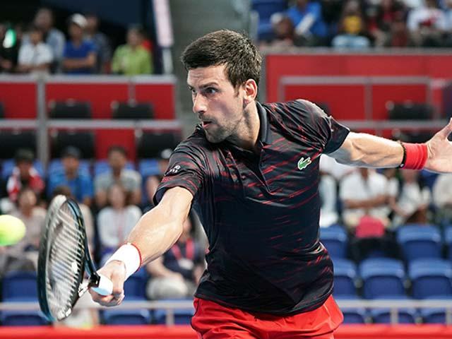 Video tennis Djokovic - Pouille: 50 phút chóng vánh, ra đòn dồn dập (tứ kết Japan Open)