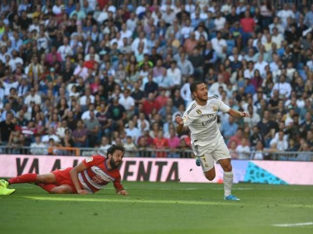 """Video highlight trận Real Madrid - Granada: Đại tiệc mãn nhãn, hú vía vì """"kẻ đóng thế"""" (Vòng 8 La Liga)"""
