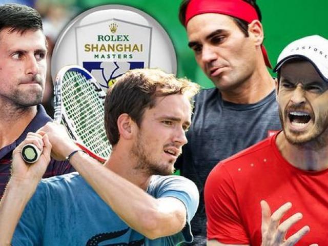 Lịch thi đấu tennis giải Thượng Hải Masters 2019