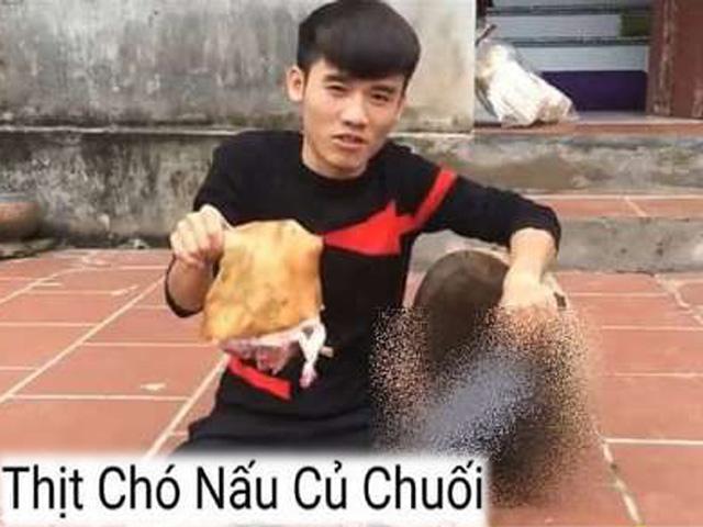 Con trai bà Tân Vlog làm video nấu thịt chó gây tranh cãi nảy lửa