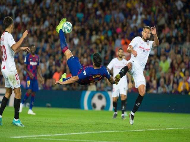 Video highlight trận Barcelona - Sevilla: Siêu phẩm mở điểm, chiến quả dễ dàng