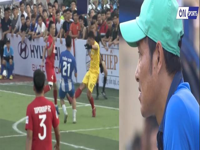 """Tổng hợp vòng 1 giải HPL """"bóng đá phủi"""" mùa 7: Đội của Hồng Sơn hòa đáng tiếc"""