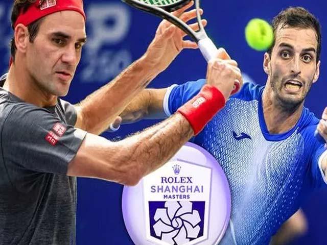 Video tennis Federer - Ramos-Vinolas: Ngược dòng tie-break đẳng cấp (Vòng 2 Thượng Hải Masters)