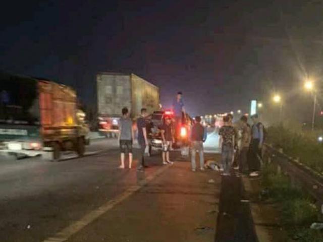 Vụ công nhân bị ô tô đâm trên cao tốc: Thêm một nạn nhân tử vong