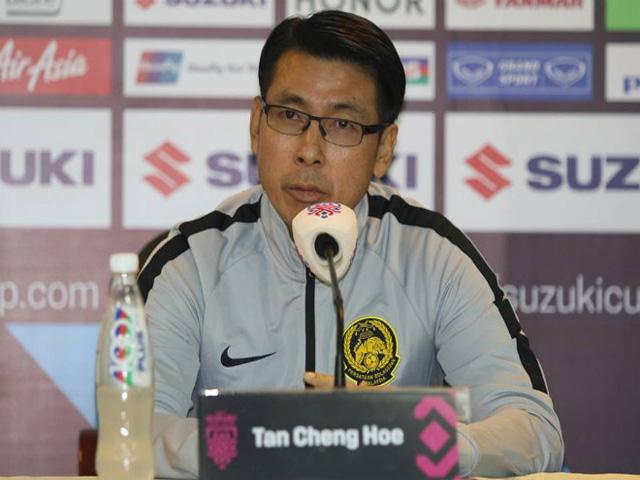 Trực tiếp họp báo ĐT Việt Nam đấu Malaysia: HLV Tan Cheng Hoe nói gì?