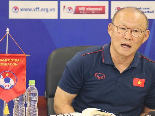 Trực tiếp họp báo ĐT Việt Nam - Malaysia: Thầy Park nói đối thủ mạnh hơn AFF Cup