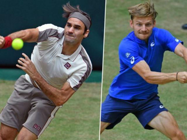 Trực tiếp tennis Federer - Goffin: Giành vé bản lĩnh (Thượng Hải Masters)