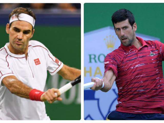 """Trực tiếp tennis Thượng Hải Masters ngày 5: Federer, Djokovic cẩn thận """"sập bẫy"""""""