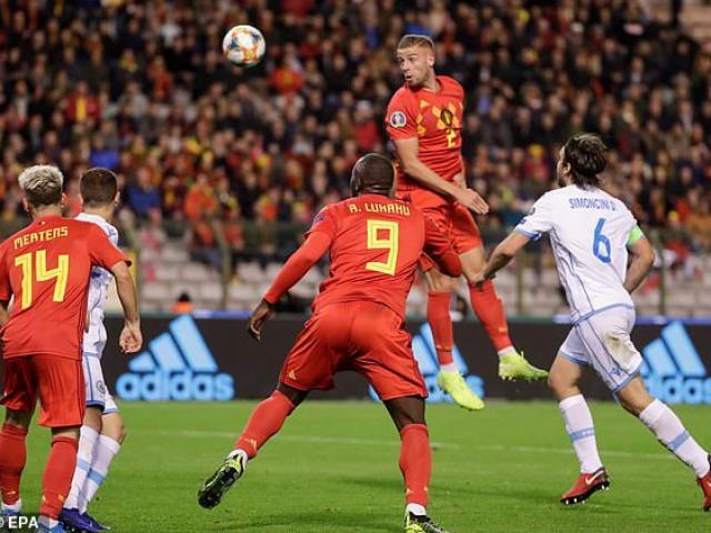 Video highlight trận Bỉ - San Marino: Lukaku - Hazard rực rỡ, 9 bàn đoạt vé Vàng