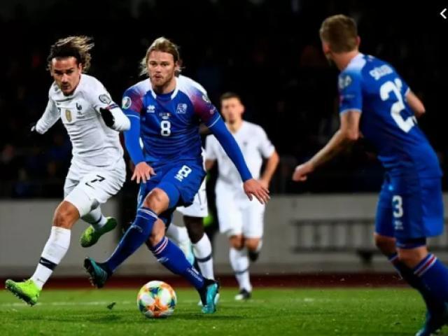 "Video highlight trận Iceland - Pháp: ""Vận son"" Griezmann, khoảnh khắc oan nghiệt"