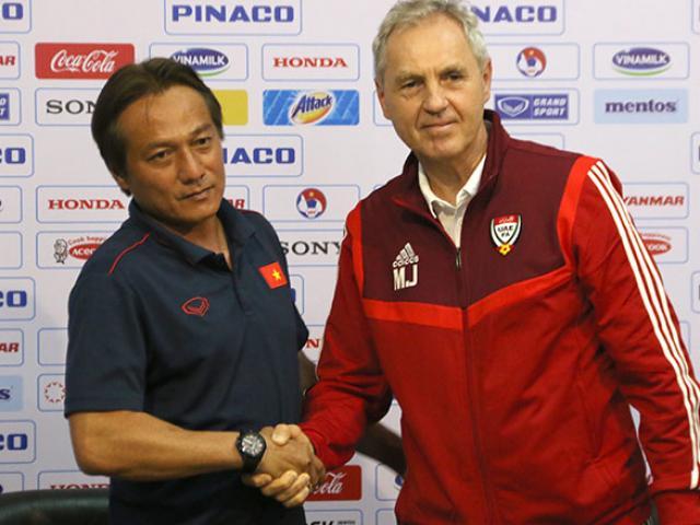 HLV Park Hang Seo ra chỉ thị đặc biệt để U22 Việt Nam đấu U22 UAE