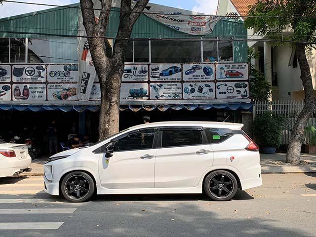 Mitsubishi Xpander của dân chơi miền Nam độ hệ thống treo khí nén