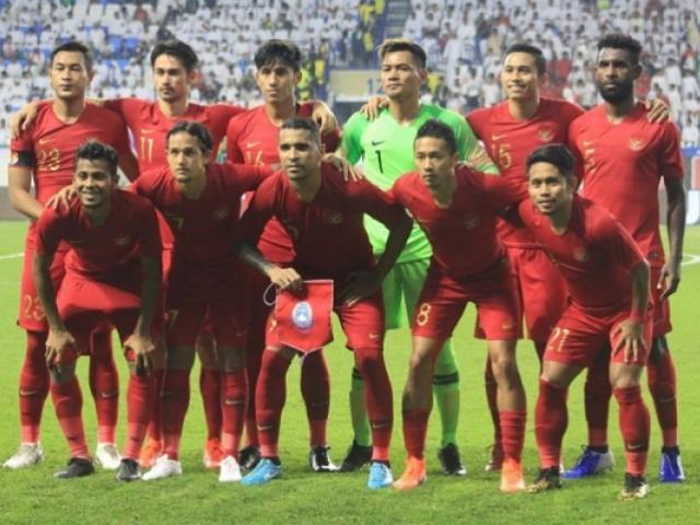 """ĐT Indonesia luyện binh đấu Việt Nam: Ra mắt """"Vũ khí nhập tịch"""" đáng gờm"""