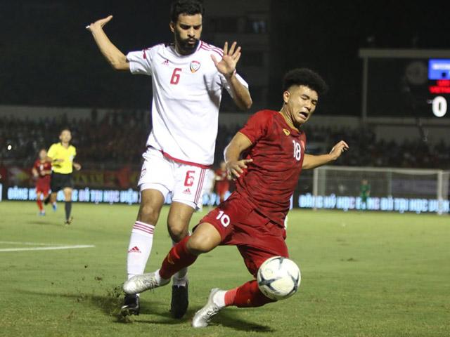 Trực tiếp bóng đá U22 Việt Nam - U22 UAE: Đức Chinh bỏ lỡ đáng tiếc