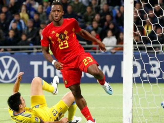 Video highlight trận Kazakhstan - Bỉ: SAO Chelsea tỏa sáng, nối dài mạch thắng