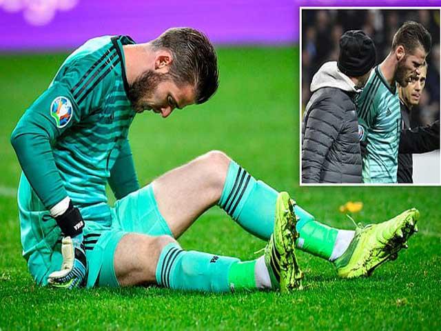 MU nhận cú sốc trước đại chiến Liverpool, De Gea chấn thương nguy cơ không đá