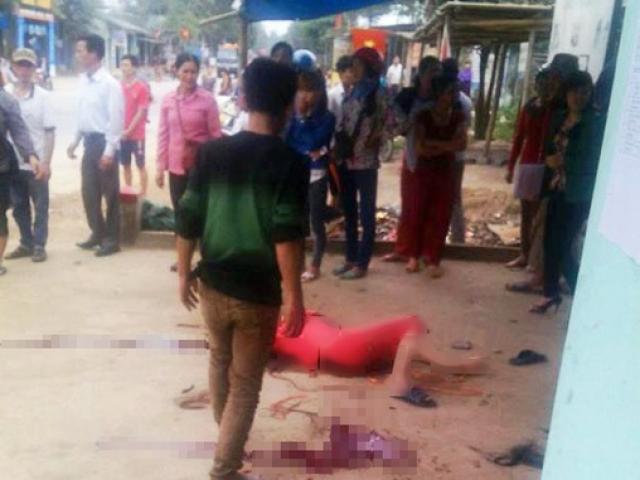 Nóng: Chồng dùng dao chém vợ rồi cắt cổ tự tử