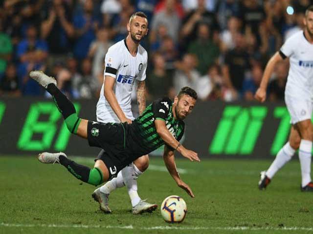Trực tiếp bóng đá Sassuolo - Inter Milan: Lukaku lập cú đúp cuối hiệp 1