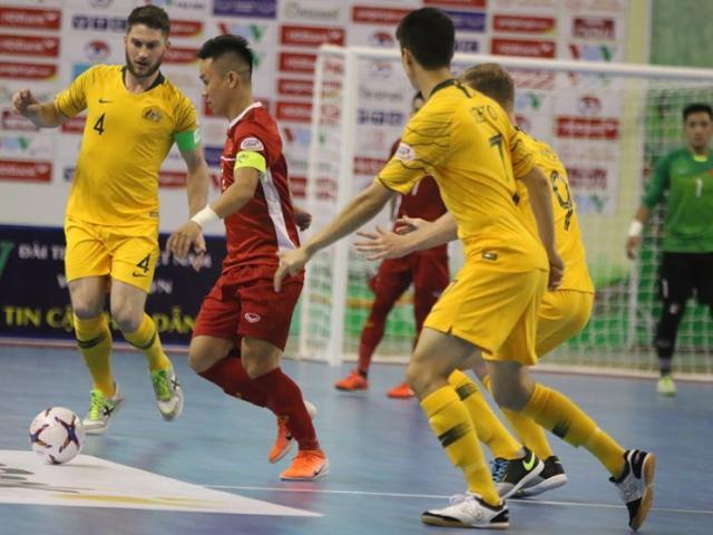 ĐT Việt Nam gây sốc hạ gục Úc hùng mạnh giải futsal Đông Nam Á
