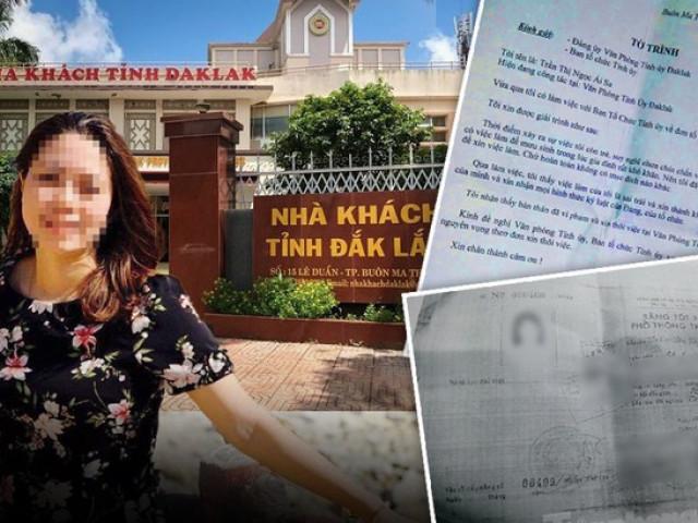 Thống nhất khai trừ Đảng nữ trưởng phòng đánh tráo nhân thân tại Đắk Lắk