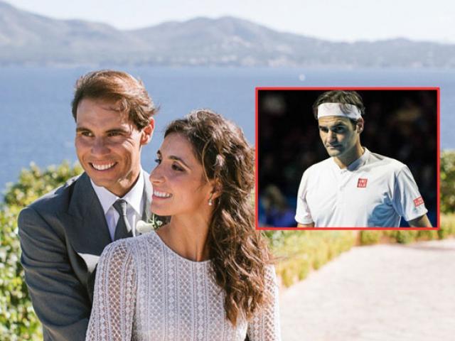 Federer không được mời đám cưới vẫn âm thầm khiến Nadal bất ngờ