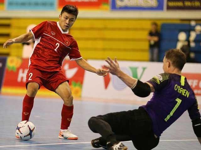 """Video highlight trận Việt Nam – Indonesia: Tấn công dồn dập, """"người nhện"""" tỏa sáng (Futsal ĐNÁ)"""