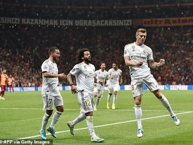 Bóng đá cúp C1, Galatasaray - Real Madrid: Người hùng khó ngờ, soán ngôi ấn tượng