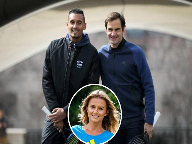 Tin thể thao HOT ngày 24/10: Mỹ nhân khuyên Kyrgios không nên học Federer