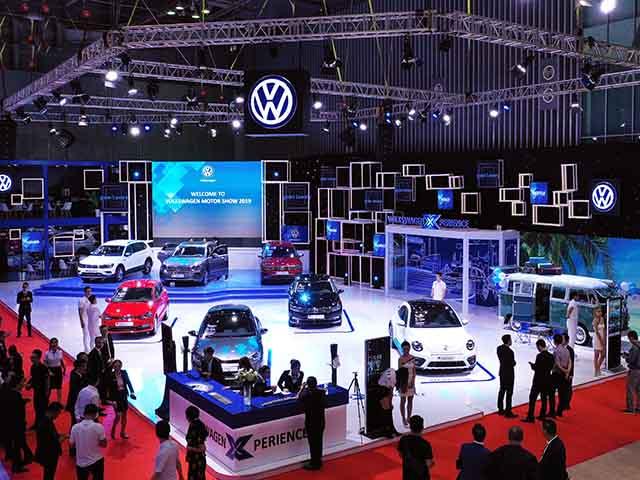 Volkswagen Việt Nam công bố giá dòng xe Touareg tại VMS 2019