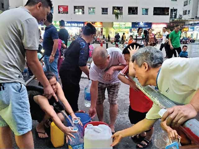 [Info] Lãi hơn 700 triệu mỗi ngày, công ty nước sạch Sông Đà đối xử tệ bạc thế nào với người dân Thủ đô?