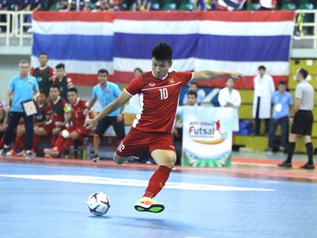 Video highlight trận ĐT Việt Nam - Thái Lan: Tiếc nuối xà ngang, bước ngoặt 21 giây (Futsal Đông Nam Á)