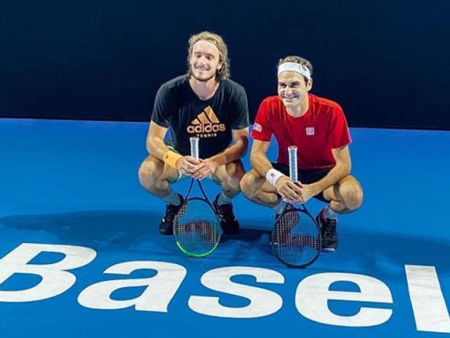 """Trực tiếp tennis Basel Open ngày 6:  Federer đấu """"ngựa ô bất kham"""", săn vé chung kết"""