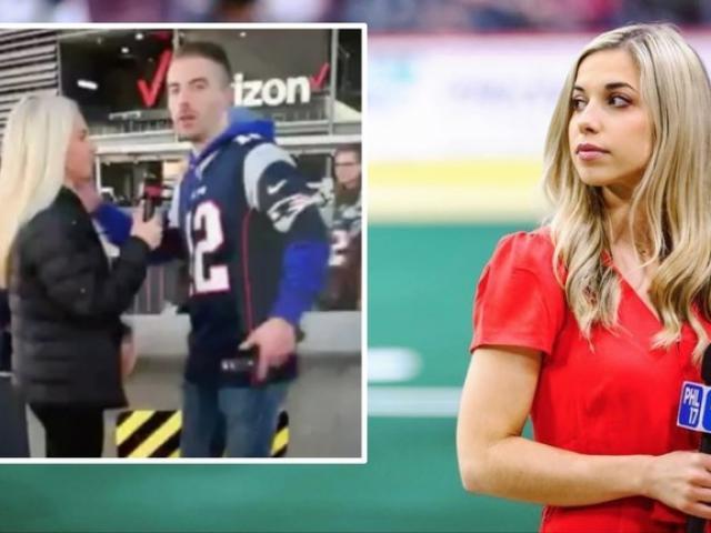 Bị khán giả cưỡng hôn, nữ phóng viên thể thao gây ngỡ ngàng trên truyền hình