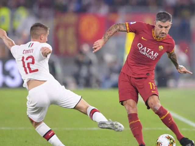 Video highlight trận AS Roma - AC Milan: Mở khóa phút 38, siêu phẩm hạ màn