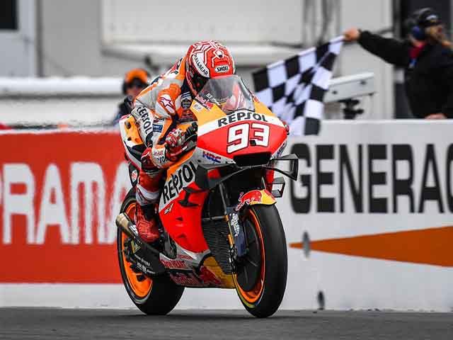 "Đua xe MotoGP, Australian GP: Vinales gục ngã, Marquez & Honda gần ""cú ăn 3"""