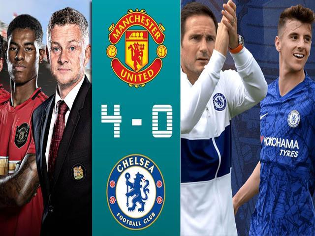 MU bất bại 3 trận hừng hực đấu Chelsea, mơ tái hiện tỷ số choáng 4-0