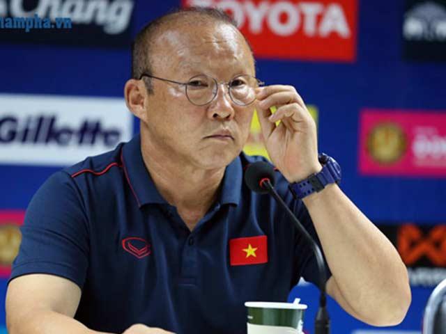 HLV Park Hang Seo tiết lộ tiêu chí chọn 2 SAO quá tuổi tranh vàng SEA Games
