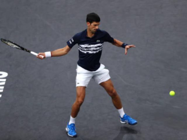Video, kết quả tennis Djokovic - Moutet: Nole vất vả, ngỡ ngàng SAO trẻ