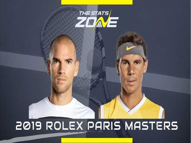 Video tennis Nadal - Mannarino: 2 set uy lực, 22 game đấu nghẹt thở
