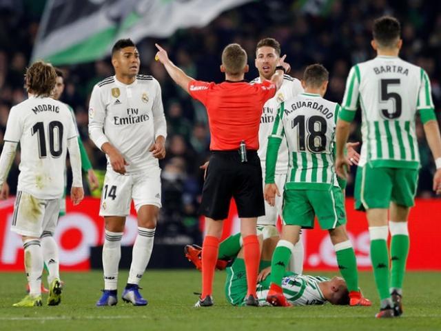 Trực tiếp bóng đá Real Madrid - Real Betis: Bỏ lỡ đáng tiếc (Hết giờ)