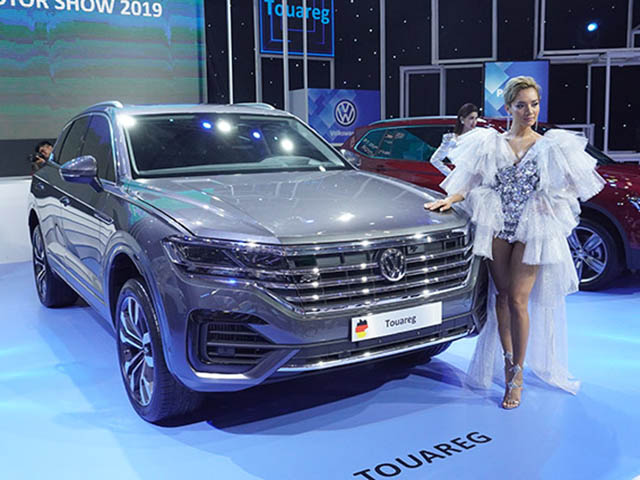 Volkswagen Touareg trưng bày tại VMS 2019 không bị tiêu hủy
