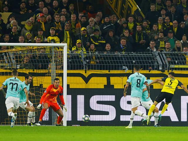 Kết quả bóng đá cúp C1 Dortmund - Inter Milan: Chiến thắng ngoạn mục, SAO Real rực sáng