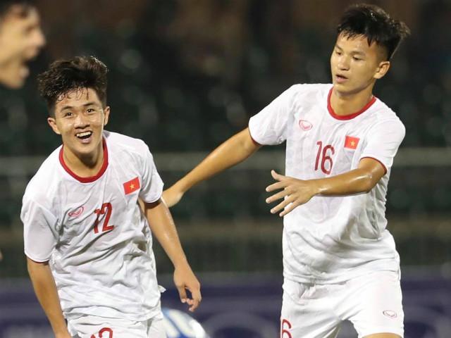 """Video highlight trận U19 Việt Nam - U19 Mông Cổ: Siêu phẩm """"mở khóa"""", vỡ òa tiệc muộn"""